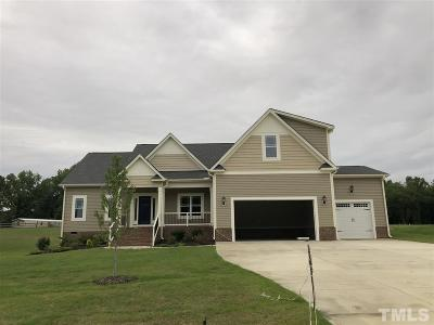 Benson Single Family Home For Sale: 81 Coats Ridge Drive