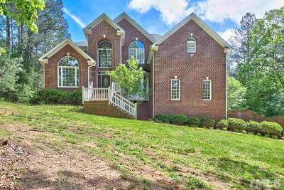 Wake Forest Single Family Home For Sale: 3689 Graham Sherron Road