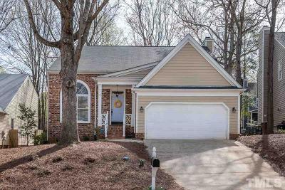 Cary Single Family Home Contingent: 114 Kirkfield Drive