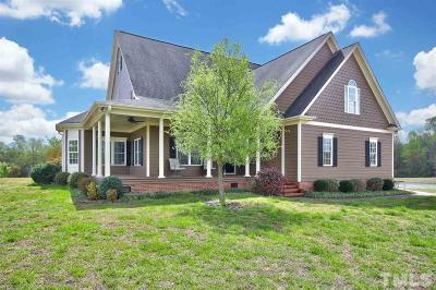 Benson Single Family Home For Sale: 355 N Pleasant Coates Road