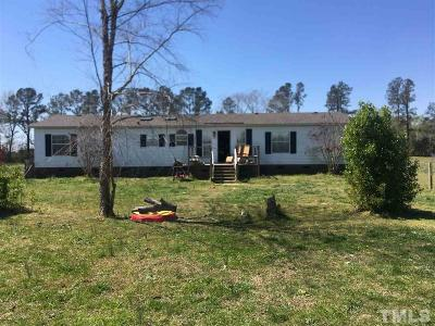 Smithfield Manufactured Home For Sale: 3132 Stevens Chapel Road