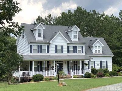 Pittsboro Single Family Home For Sale: 489 Poplar Forest Lane