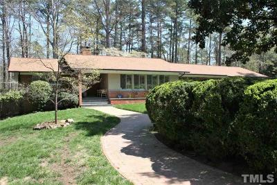 Chapel Hill Single Family Home Pending: 304 Clayton Road