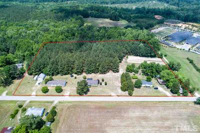Johnston County Commercial Lots & Land For Sale: 222 Johnson Estate Road