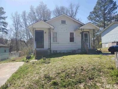 Wake County, Durham County, Orange County Multi Family Home For Sale: 606 Red Oak Avenue