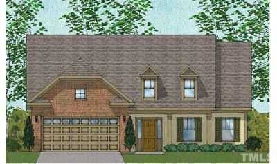 Wake Forest Single Family Home For Sale: 2929 Thurman Dairy Loop #Lot 32