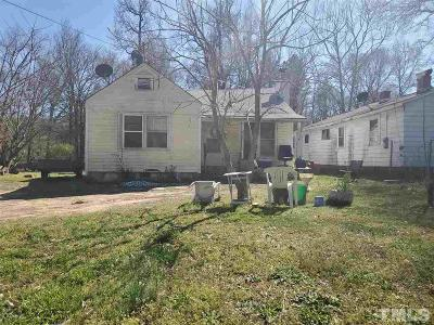 Durham Single Family Home For Sale: 816 Belvin Avenue