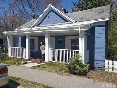 Durham Single Family Home For Sale: 1105 Linwood Avenue
