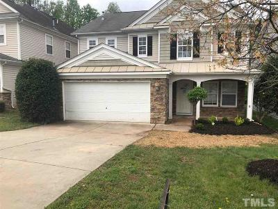 Raleigh Single Family Home Pending: 5428 Meryton Park Way