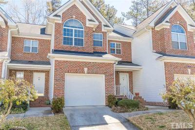 Cary Townhouse Pending: 184 Grande Meadow Way