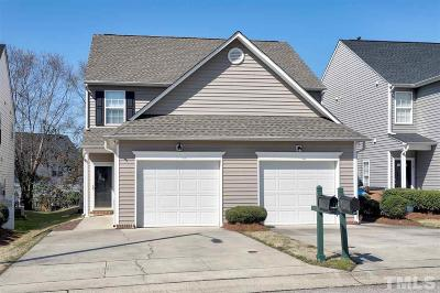 Raleigh Townhouse Contingent: 2049 Persimmon Ridge Drive