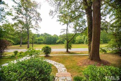 Durham Single Family Home For Sale: 1608 University Drive