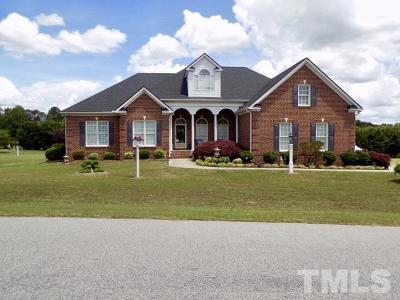 Zebulon Single Family Home For Sale: 3616 Horsemint Trail
