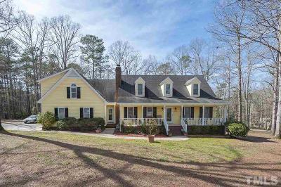 Single Family Home For Sale: 4800 Lake Wheeler Road