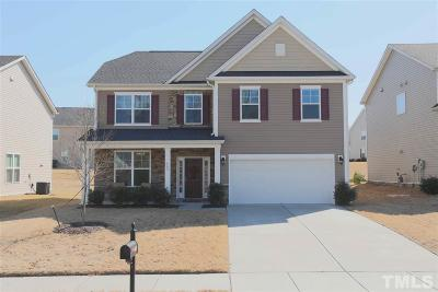 Knightdale Single Family Home Pending: 409 Red Mountain Lane