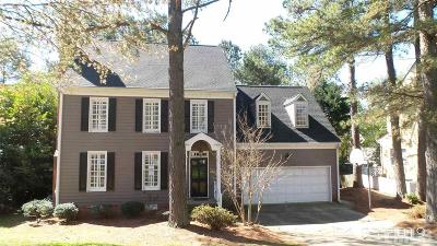 Raleigh Single Family Home Contingent: 1924 Baronsmede Drive