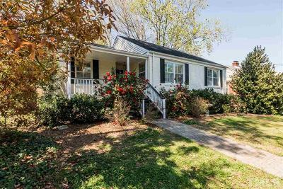 Wake County Single Family Home For Sale: 1201 Mitchell Street