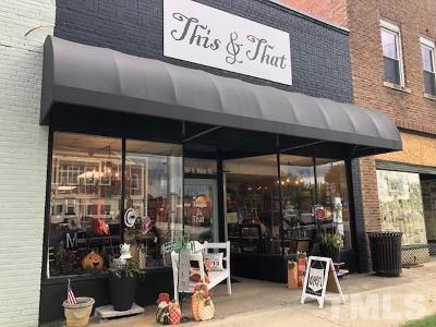 Harnett County Commercial For Sale: 818 S Main Street