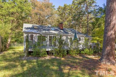 Chapel Hill Single Family Home Contingent: 308 Barclay Road