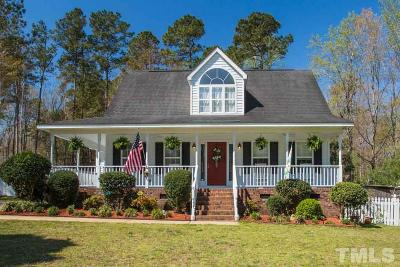 Garner Single Family Home Pending: 182 Wintergreen Drive