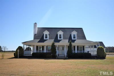 Dunn Single Family Home Pending: 1085 W Core Road