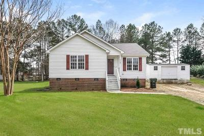 Clayton Single Family Home For Sale: 116 Cobey Court