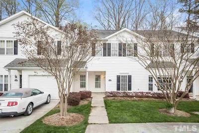 Morrisville Townhouse Pending: 528 Misty Groves Circle