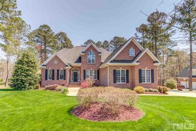 Wake Forest Single Family Home For Sale: 7604 Trail Blazer Trail
