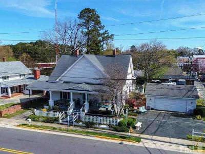Apex Commercial For Sale: 104 W Chatham Street