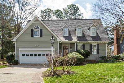 Chapel Hill Single Family Home Pending: 2068 Carriage Way
