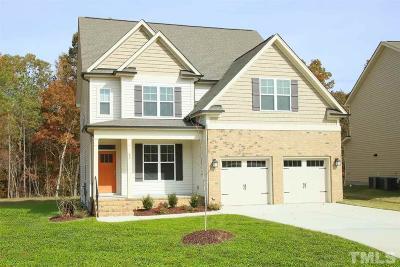Clayton Single Family Home For Sale: 82 Krosley Run Court