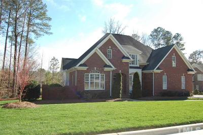 Garner Single Family Home Contingent: 113 Luxorwind Drive