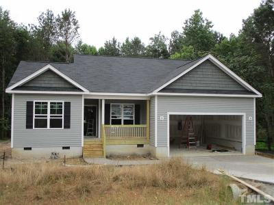 Angier Single Family Home Pending: 325 Wynnridge Drive