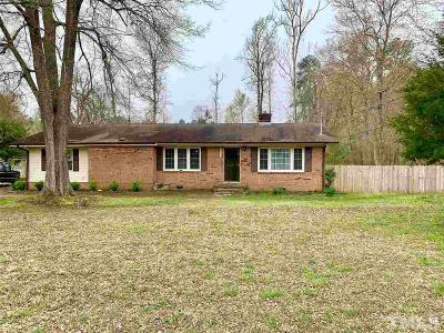 Granville County Single Family Home Contingent: 6531 Nc 96 Highway