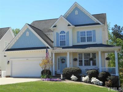 Holly Springs Single Family Home Contingent: 201 Gillyweed Court