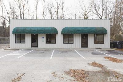 Harnett County Commercial For Sale: 434 E Cornelius Harnett Boulevard