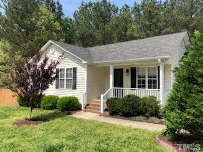 Knightdale Single Family Home Pending: 909 Amber Acres Lane