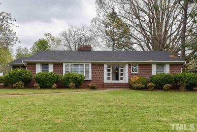 Mebane Single Family Home For Sale: 211 S Fifth Street
