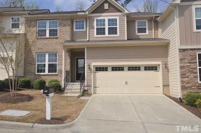 Cary Townhouse For Sale: 803 Transom View Way