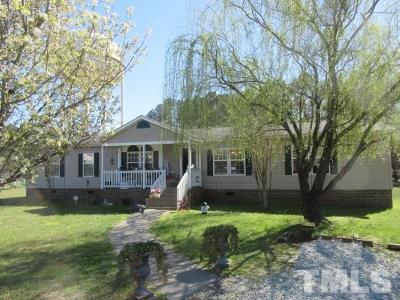 Granville County Manufactured Home Pending: 1144 High Meadow Circle