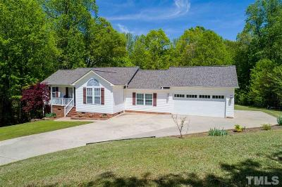 Clayton Single Family Home For Sale: 329 Riverstone Drive
