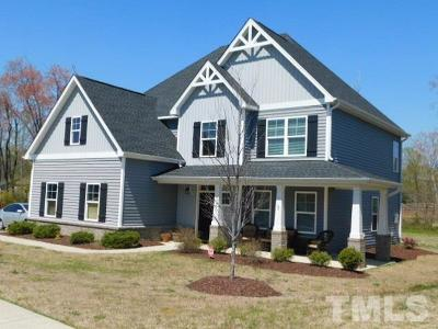 Angier Single Family Home For Sale: 8728 Coyote Melon Drive