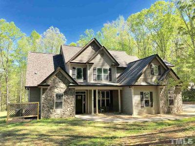 Louisburg Single Family Home For Sale: 218 Sacred Fire Road