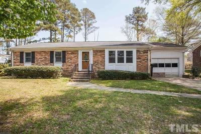 Fuquay Varina Single Family Home Contingent: 501 England Avenue