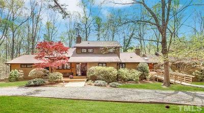 Durham Single Family Home For Sale: 7110 Pine Hill Road