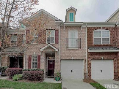 Cary Townhouse For Sale: 347 Longchamp Lane