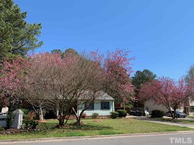 Durham Single Family Home For Sale: 3501 Suffolk Street