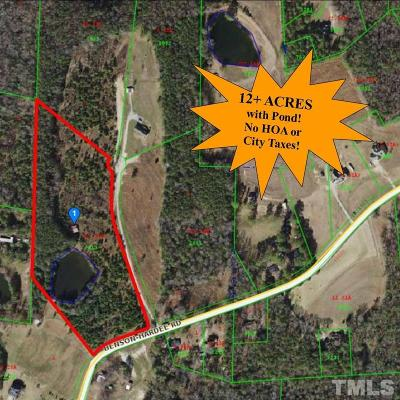 Johnston County Residential Lots & Land For Sale: 7288 Benson Hardee Road