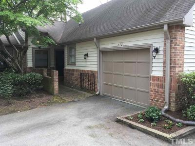 Cary Townhouse Contingent: 232 Hanover Place