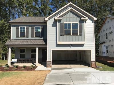 Youngsville Single Family Home For Sale: 507 Holden Forest Drive